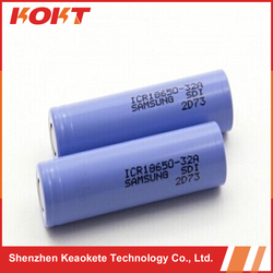 Hot! Alibaba express high capacity 18650- 32A rechargeable battery 3.7v 3200mah for two wheel electric scooter