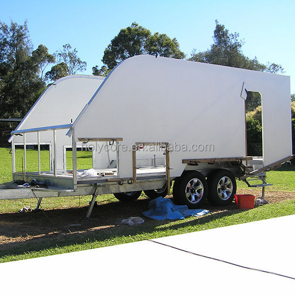 Pp Honeycomb Sandwich Rv Trailer Side Wall Panel Buy Trailer Side Panel Trailer Wall Panels Rv