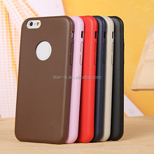 2015 hot sell leather cheap mobile phone case for iphone 6 original