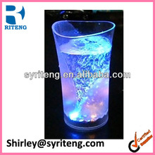 vase shape plastic led flashing bar cup
