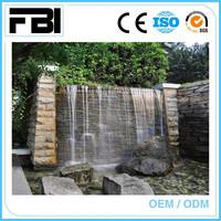 water fall, water curtain,decorative garden fountain