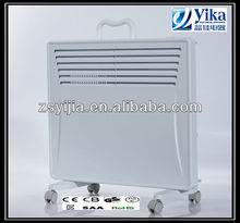 Competitive electric mechanical Convector panel Heater with handle and freestanding white