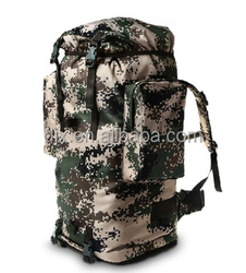 Army Strong Canvas Backpack Military Hiking/Travel Backpack