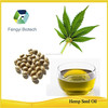 Food additive-- 100% organic cold pressed Hemp seed pure oil for sale