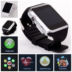 2015 new-design smart watch with heart rate Sensor , pedometer, temperature,Reducing Blood Pressure