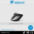 El más nuevo diseño de gama alta v4.0 edr multipunto mini auricular bluetooth inalámbrico