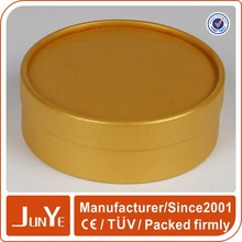SGS certificate brown round silicone oil container box