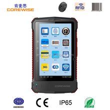 Android quad core smart phone with wifi, 3g, gps,gprs,bluetooth, rfid reader, fingerprint sensor, sex power tablet