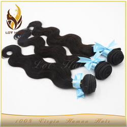 Factory price high quality 100% virgin human hair weave wholesale