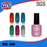 Authentic Factory Owner Custom Label Thermal Gel Nail Polish Gel Colors
