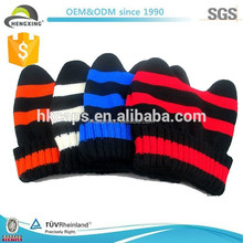 High Quality Acylic Colorful Knited Hat/Knit Beanie Children Cap
