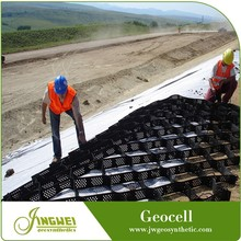 Geocell-Reinforce Structural Layers for Asphalt Road Expansion