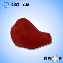 Customized red Silicon Earplugs case