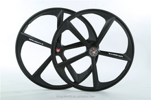 700c disc wheel, 5 spoke bicycle wheel