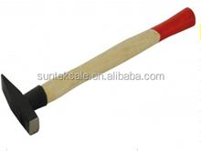 wood handle German type machinist hammer