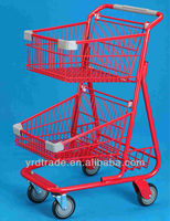 Supermarket shopping carts for seniors