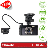 "New car camera recorder GT100 electronics vehicle camera with 3.0"" big screen"