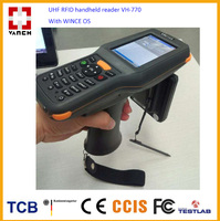 uhf rfid long distance handheld barcode scanner for inventory checking