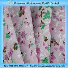 printed beautiful flowers design tc poplin fabric