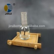 16ml vacías y ronda de esmalte de uñas botella de vidrio