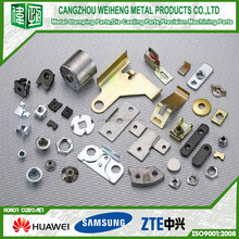 OEM specialised manufacturer produced metal stamping parts for furniture in foreign market