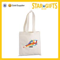 Alibaba China custom blank small canvas shopper bag