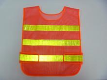 Malha colete de segurança de tráfego colete reflector