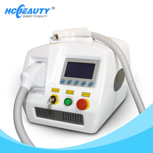 Hot Sale portable 1064nm&532nm tattoo removal machine /laser tattoo removal/q switch nd yag laser