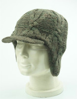 crothet ear flap hat made in china