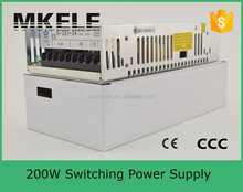 S-201-48 high quality 200w 48v 4.2a switching power supply (ac/dc power supply) with CE approved