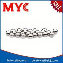 Good quality 15/16' hollow metal chrome steel ball
