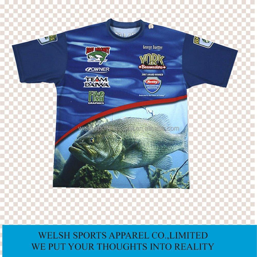 Wholesale Dri Fit Tournament Fishing Jersey Fishing Shirts