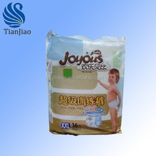 New Factory price,free samples,disposable, US Domtar pulp, Japan SAP pull up baby diapers