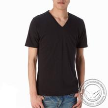 140 grams high quality spandex/cotton white spots and stripes tshirt