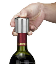 Stainless Steel Vacuum Sealed water stopper craft wine stopper blank plastic cord stopper