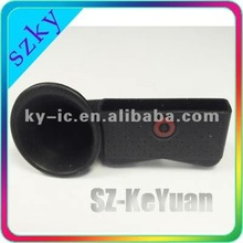 silicon horn stand for iphone 4