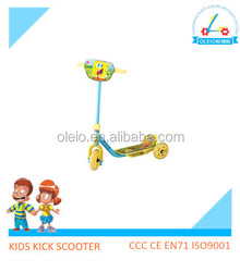 Low price big 3 wheel kids smart balance wheel scooter industrial tricycles made in china