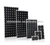 12v transparent panel 50 monocrystalline bendable solar panel