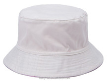 blank reversible bucket hat cotton safari cap outdoor hat for children kids infant