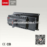 YCQ9M-225 4 phase ats for generators National Project Supplier.China Top 500 enterprise.