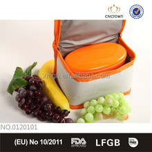 Fashion small kids lunch box with cooler bag