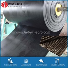 aramid reinforced steel cord rubber belting