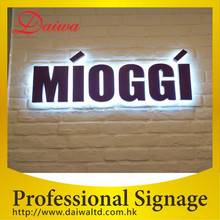 Beauty Back-lit LED Stainless-Steel Letters