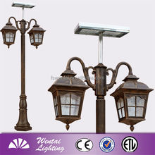 garden light foshan outdoor lighting motion sensor outdoor led street light rising sun (E-1869-2M)