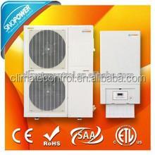 17.5KW R410a Split Type air source DC Inverter Heat Pump