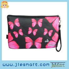 JSMART custom printing designs photo bag digital printing microfiber cosmetic bag