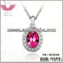 crystal ball shamballa necklace