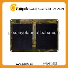 high quality 20-60W solar panel/portable folding solar panel for marine/golf car/home