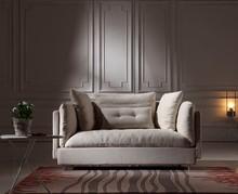 Italian comfortable Simple style high quality fabric sofa Living Room Furniture Fabric Sofa Set
