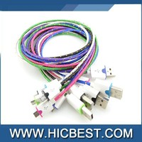 Best Quality Nylon Braided Cable For Cell Phone Accessories Nylon Braided Cable China Manufacturer